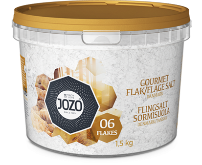 Gourmet salt flakes 1.5kg Bucket