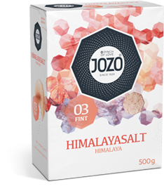 Himalayasalt fint 500g Carton box