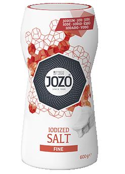 Iodised salt fine 600g Large shaker