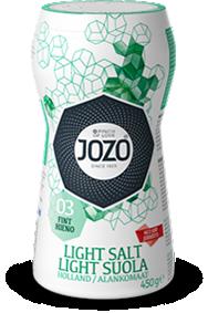 Light salt fine 450g Large shaker