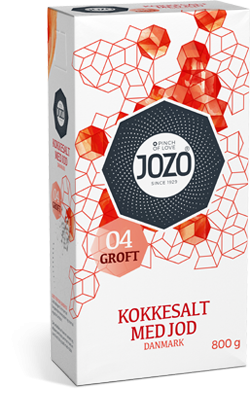 Iodised salt coarse 800g Carton box