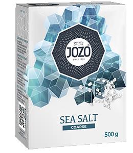 Sea salt extra coarse 500g Carton box