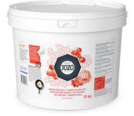 Iodised salt fine 10kg Bucket