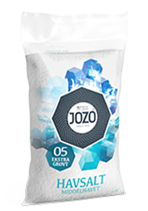 Sea salt extra coarse 4kg Plastic bag
