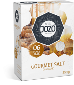 Gourmet salt flakes 250g Carton box