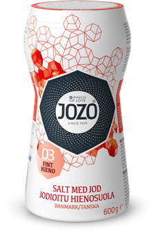 Iodised salt fine 600g Large shaker