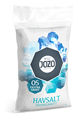 Sea salt extra coarse 4kg Plastic bag
