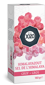 Himalayasalt grovt 180g Carton box